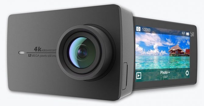 Cameras Like GoPro But Cheaper: The YI 4K Action Camera