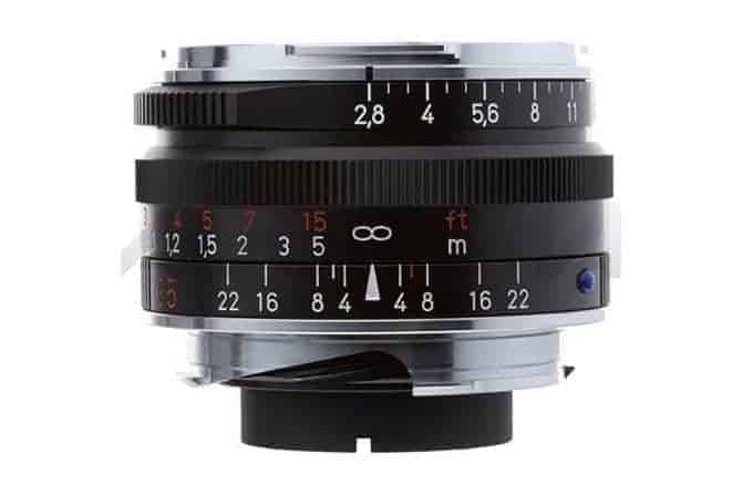Zeiss 35mm f/2.8 lens