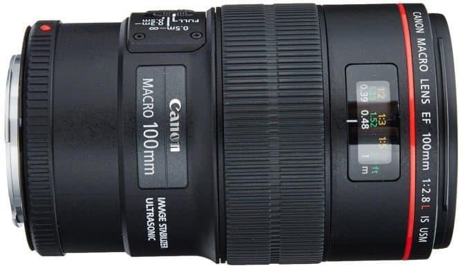 Canon EF 100mm f/2.8L Macro IS USM Lens