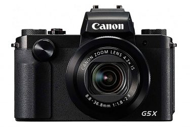Canon G5 X touchscreen compact camera