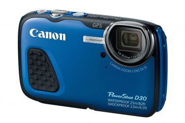 Canon PowerShot D30 diving camera