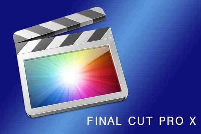 Final Cut Pro X by Apple (Great to Edit Drone Videos)