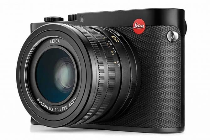 Leica Q touchscreen compact camera