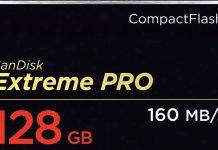 Sandisk Extreme pro compactflash card