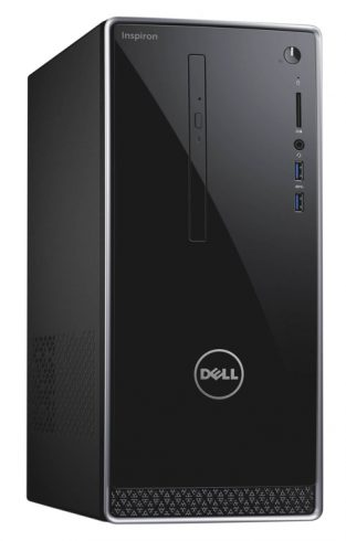 2017 Newest Dell 3668 Inspiron 7th Generation Mid Size Tower Computer PC (Intel Quad Core i7-7700, 16GB DDR4 Ram, 2TB HDD, 2GB NVIDIA GeForce GT 730, HDMI, WIFI, DVD-RW) Win 10 Pro