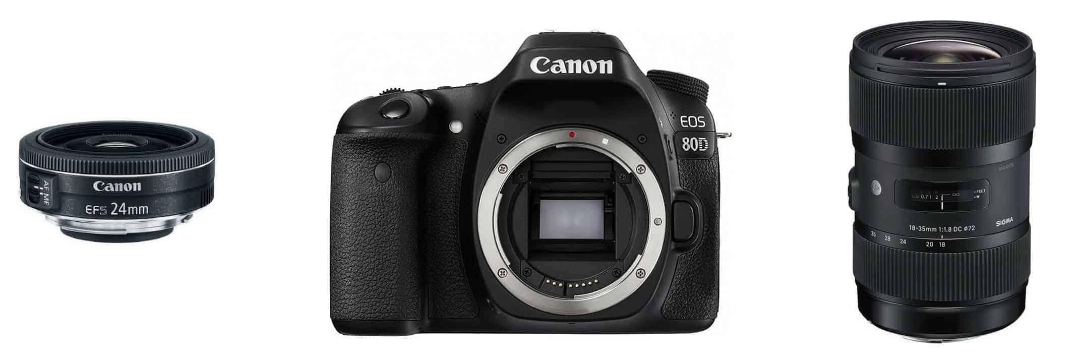 Best Canon 80D Lenses
