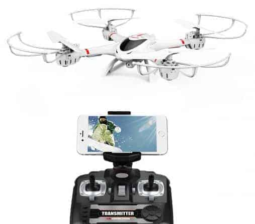 Best Seller Drone under $200: the DBPOWER MJX X400W FPV