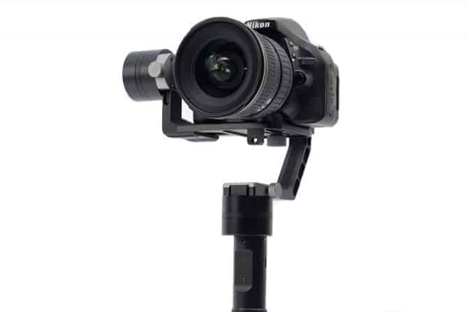 Top Rated Motorized DSLR/Mirrorless Gimbal: the Glide Gear Geranos VII Gyro Motorized Stabilizer