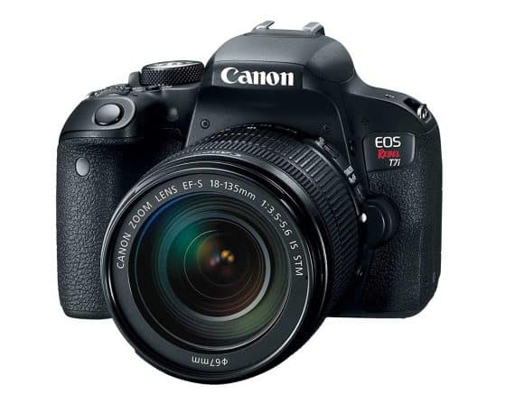 One of the most gifted DSLR cameras: the Canon EOS REBEL T7i EF-S 18-135 IS STM Kit