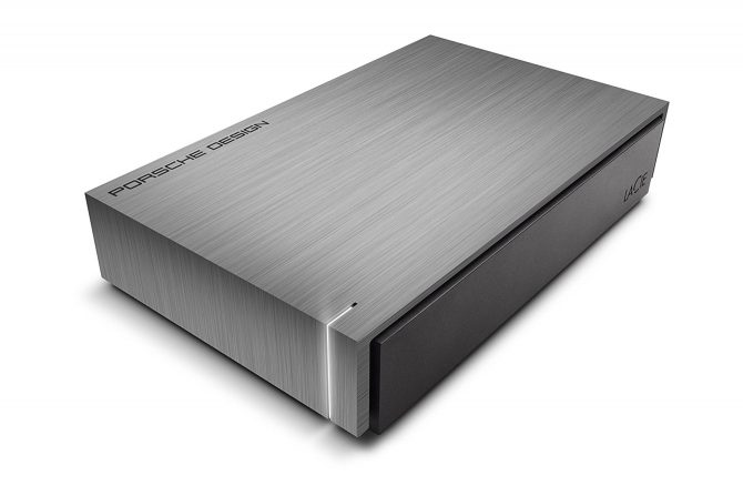 LaCie Porsche Desktop external hard drives