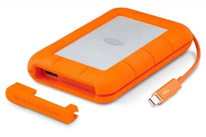 LaCie Rugged Thunderbolt portable external hard drives