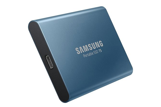 Samsung T5 SSD portable external hard drives Best in the Category Portable & Design: the Samsung T5 SSD Portable External Hard Drive