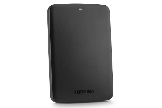 Toshiba Canvio Basics portable external hard drives