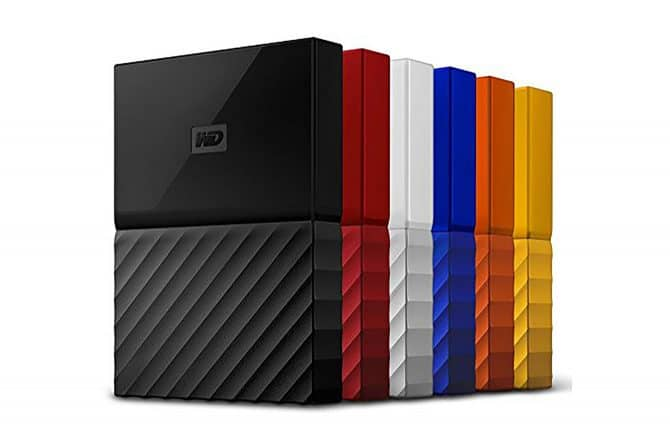 WD My Passport portable external hard drives