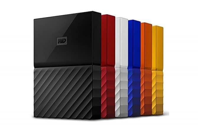 WD My Passport portable external hard drives