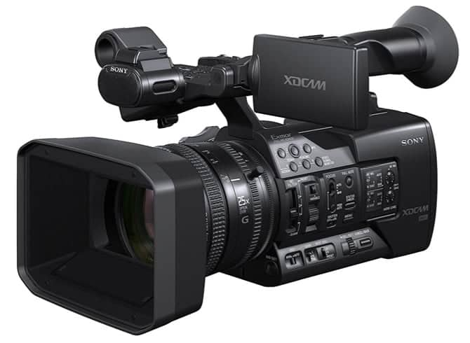 Best Professional Camcorders: Sony PXWX180 XDCAM XAVC HD422 Hand-held Camcorder