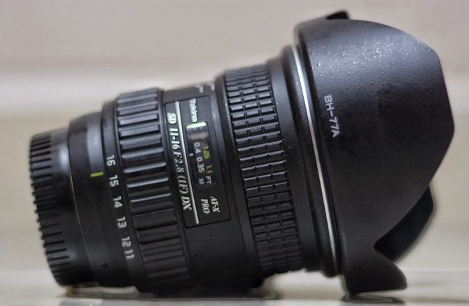 Tokina 11-16mm lens (Ideal for shooting the milky way)