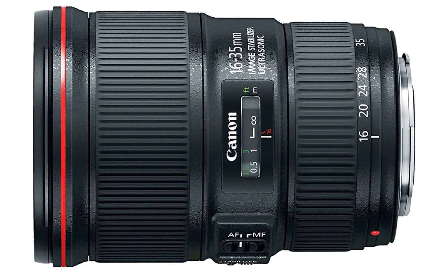 Best Canon Landscape Lens #2 Canon EF 16-35mm f:4L IS USM Lens