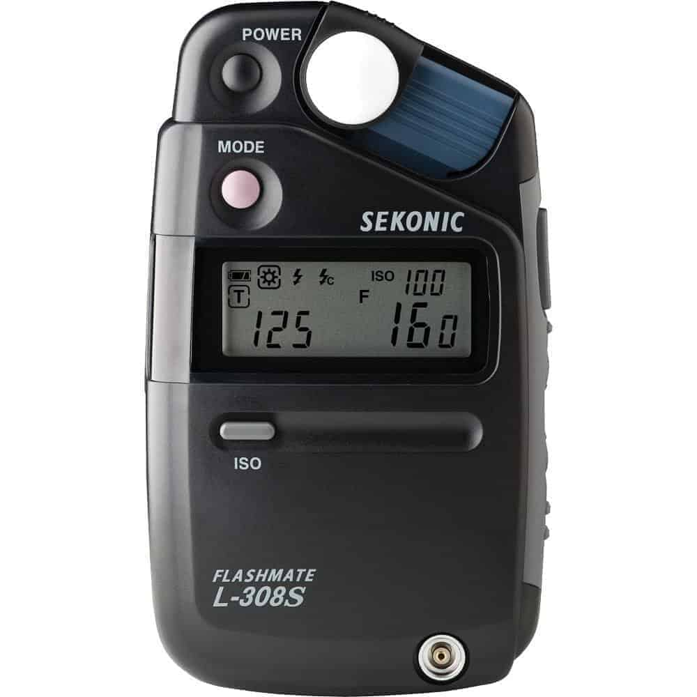 Sekonic L-308S Flashmate Digital Incident, Reflected & Flash Light Meter