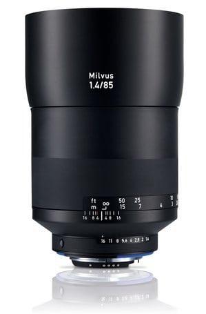 Zeiss Milvus 85mm f1.4 ZF.2