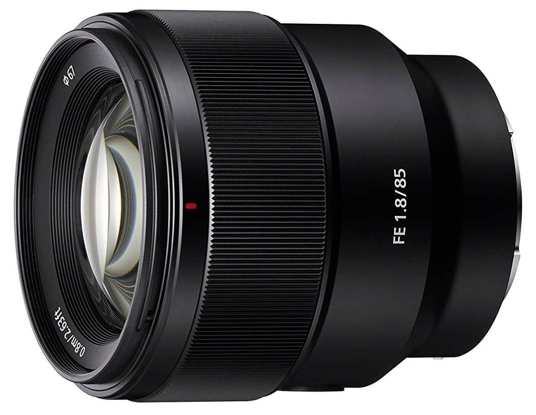 Sony SEL85F18 85mm F-1.8-22