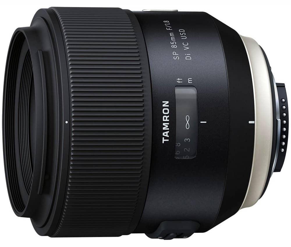 Tamron SP 85mm f1.8 Di VC USD lens
