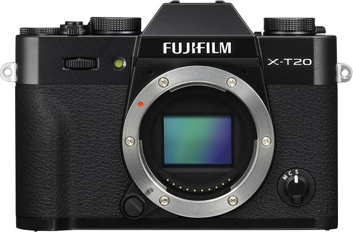 Comparing the Best Mirrorless under $1,000: the Fujifilm X-T20 Mirrorless Camera Body 64GB Body Bundle (Black)