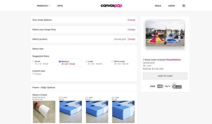 CanvasPop vs CanvasChamp (CanvasPop is Super Easy to Use)