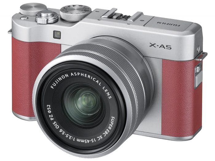Affordable and classy mirrorless camera: the Fujifilm X-A5 Mirrorless Camera XC15-45mm Lens Kit - with 3.0