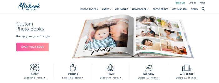 Mixbook.com Find out How this Custom Photo Book Printers compares to Blurb