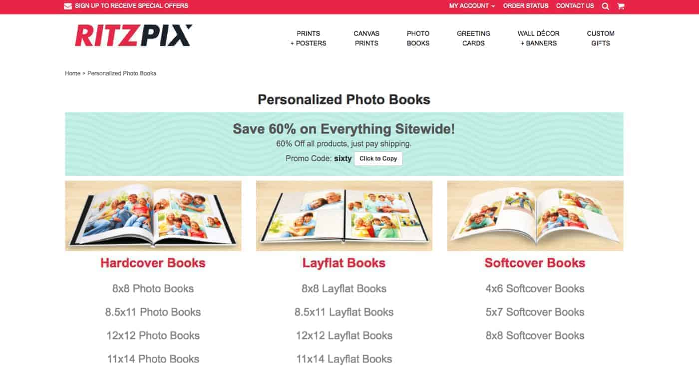 RitzPix Personalized Photo Books Reviewed