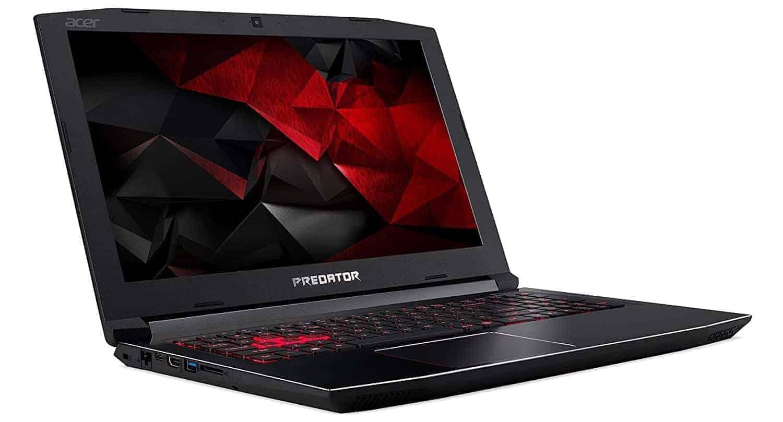 "Acer Predator Helios 300 Gaming Laptop, 15.6"" Full HD, Intel Core i7-7700HQ CPU, 16GB DDR4 RAM, 256GB SSD, GeForce GTX 1060-6GB"