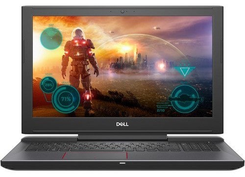 4. Dell Inspiron 15 Gaming Laptop Core i7-7700HQ, 16GB RAM, 128GB SSD and 1TB HDD