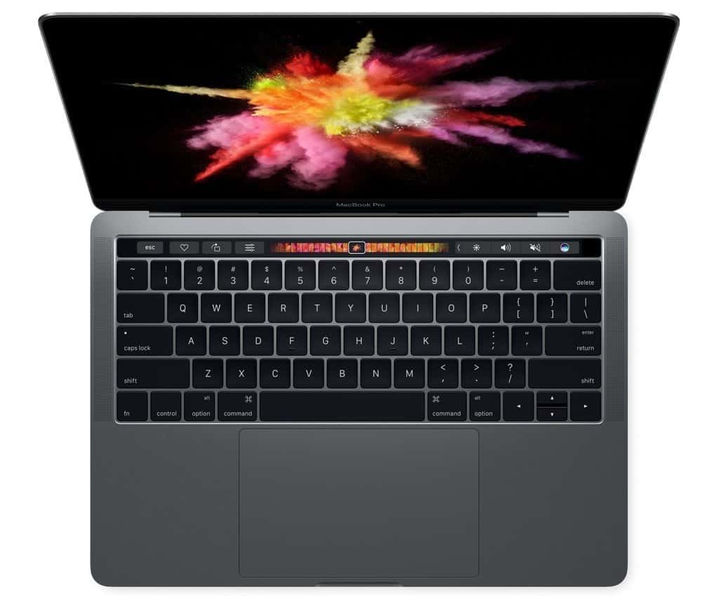 5. Apple MacBook Pro MLH12LL:A 13-inch Laptop with Touch Bar, 2.9GHz dual-core Intel Core i5, 256GB, Retina Display
