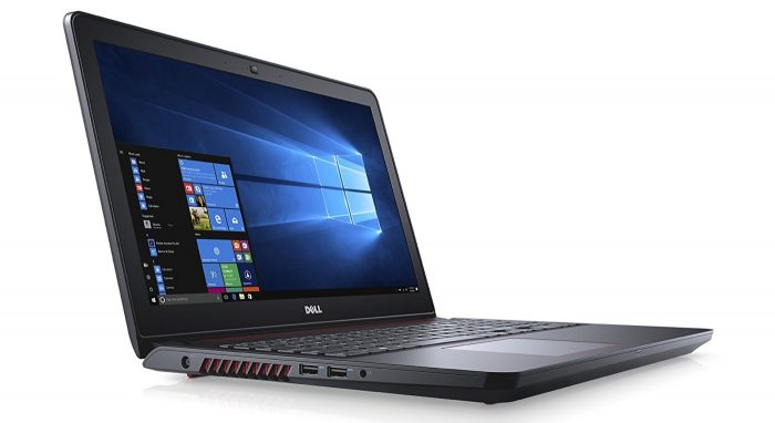 "Dell Inspiron Gaming Laptop - 15.6"" Full HD, Core i7- 7700HQ, 8 GB RAM, 1000 GB HDD + 128GB SSD, GTX 1050, Metal Chassis - i5577-7359BLK-PUS"