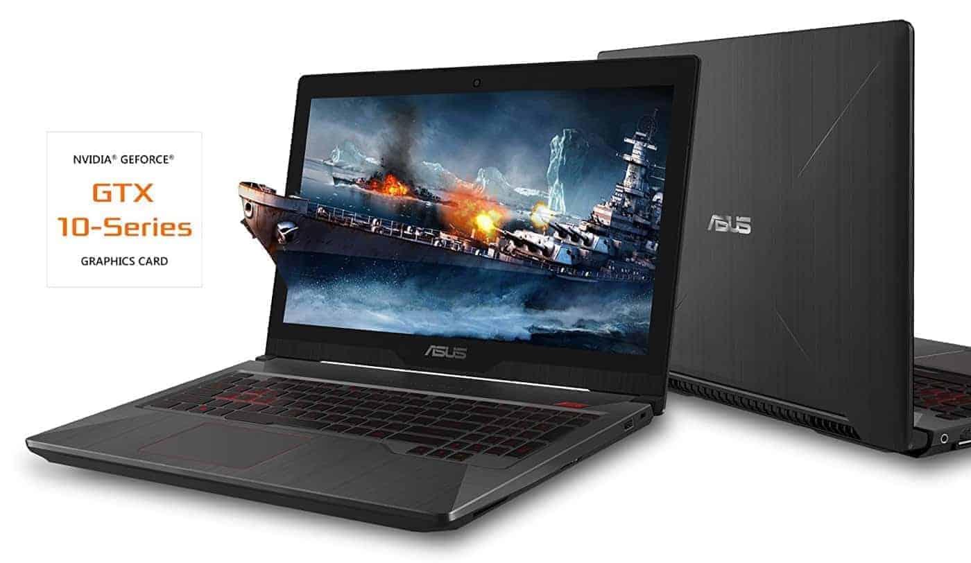 "ASUS FX503VM 15.6"" FHD Powerful Gaming Laptop, Intel Core i7-7700HQ Quad-Core 2.8GHz (Turbo up to 3.8GHz), 3GB GTX 1060, 128GB SSD + 1TB HDD, 16GB DDR4"