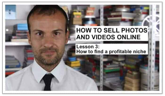 "Microstock Guru Daniele Carrer explains in his Online Tutorial ""How to Sell Photos and Vidos Online"" ways to find a profitable niche (which is very important when starting!)"