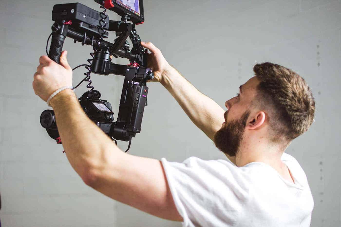 behind the scenes footage
