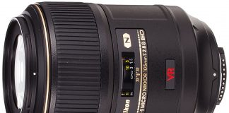 Nikon AF-S VR Micro-NIKKOR 105mm f/2.8G IF-ED Lens (on of the Best Macro Lenses for Nikon)