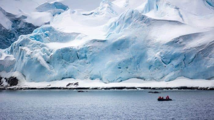 The temperatures at the Antartica costal area is around -10°C.