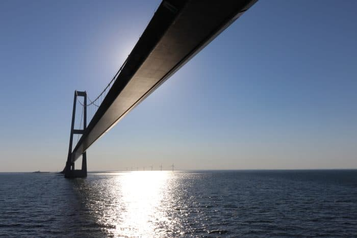 Øresund Bridge Connecting Denmark and Sweden Our Source Image for our CanvasPop Review