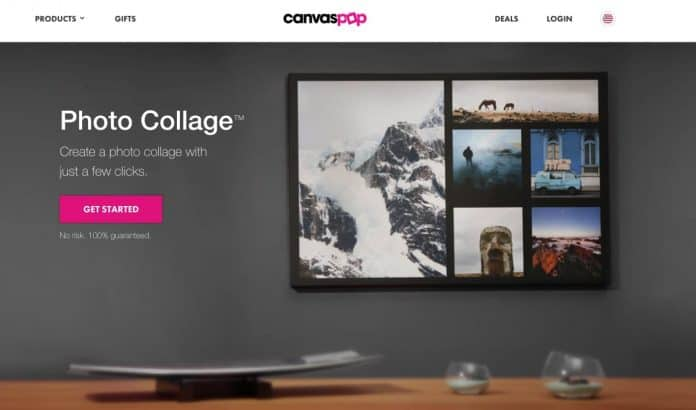 Best Collage Photo Printing Service CanvasPop