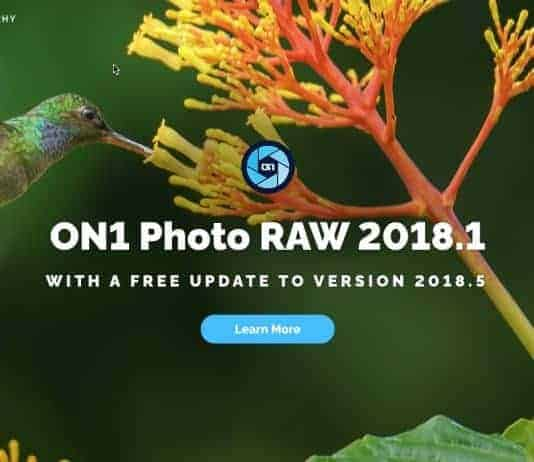 On1 Photo RAW Editor Review 2018.5 Version Coming Soon