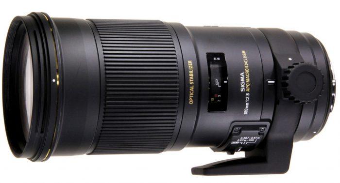 Sigma 180mm F2.8 EX APO DG HSM OS Macro for Nikon SLR Cameras