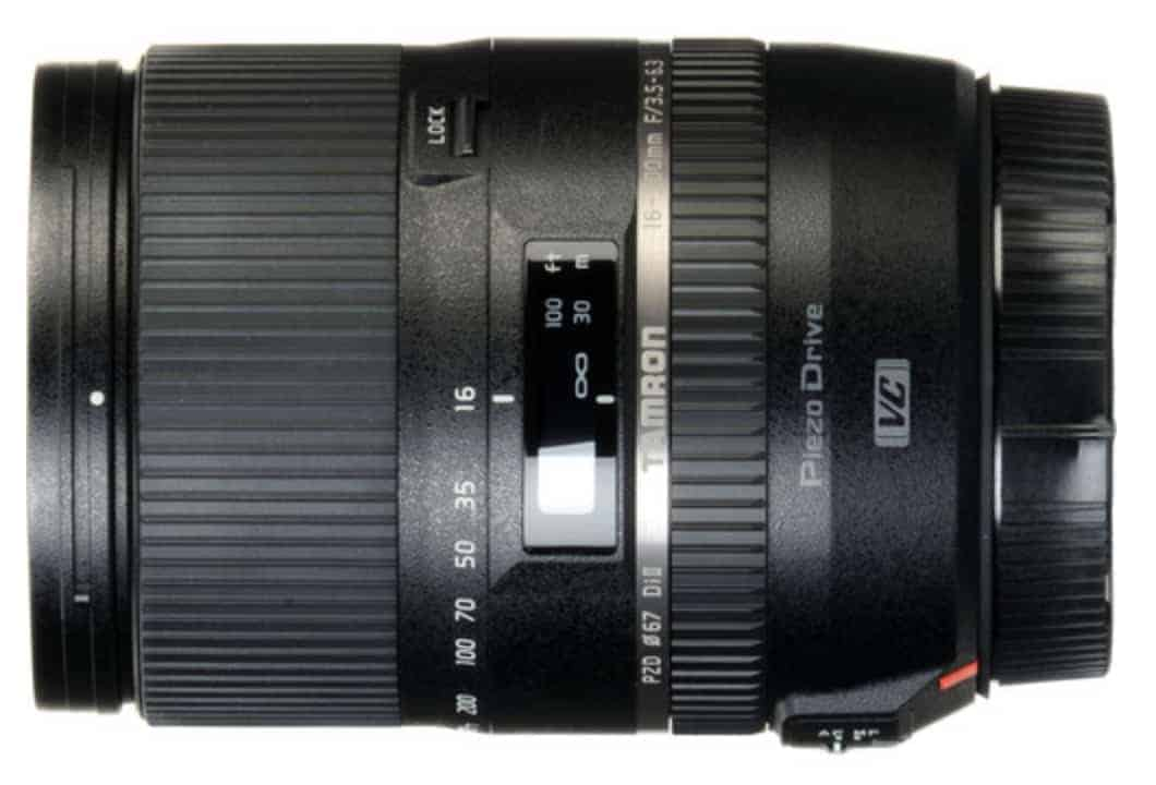 Tamron 16-300mm F/3.5-6.3 Di-II VC PZD All-In-One Zoom for Nikon DX DSLR Cameras