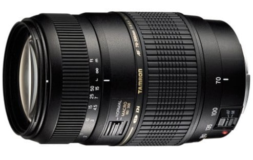 Tamron AF70-300mm F/4-5.6 Di LD Macro Lens