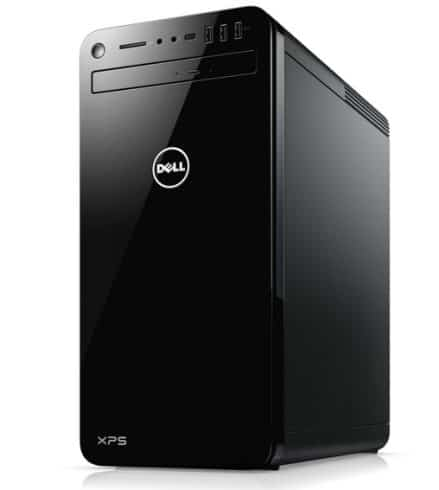 ll XPS 8930-7814BLK-PUS Tower Desktop - 8th Gen Intel Core i7-8700 Processor, 32GB DDR4 RAM, 1TB Hard Drive + 16GB Intel Optane Memory, 6GB Nvidia GeForce GTX 1060, DVD Burner, Windows 10 Pro, Black