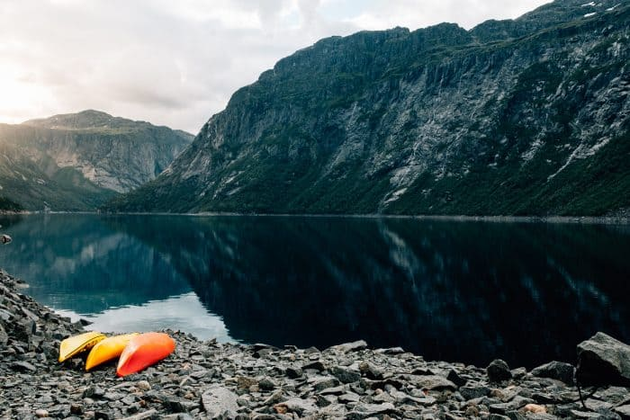 Hiking Photography Tips Include an Object in the Front