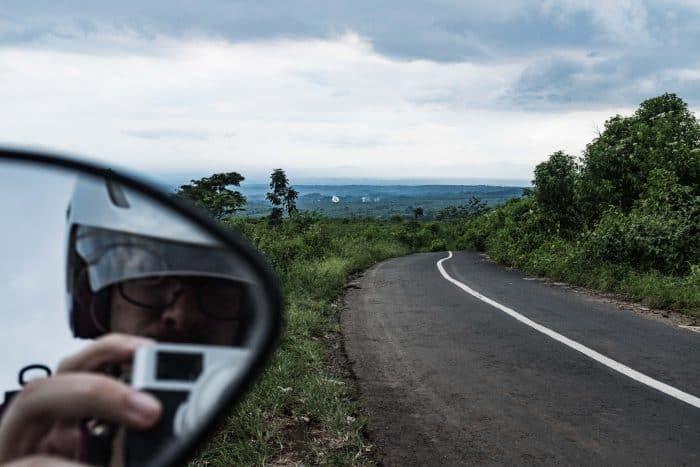 Drive to Mount Ijen, Indonesia
