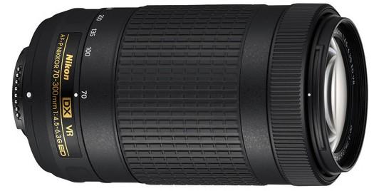 Nikon AF-P DX Nikkor 70-300mm f/4.5 – 6.3G ED Lens